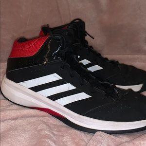 Black Adidas High Tops